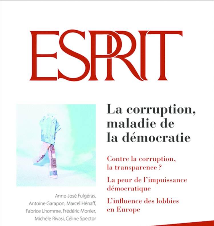 Entretien Revue Esprit Février 2014 – Les lobbies et le travail politique (entretien)